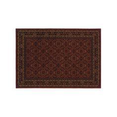 Oriental Weavers Cambridge Framed Lattice Rug, Red