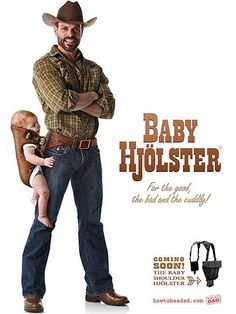 Laugh of the day: New cowboy baby carrier! Cowboy Baby, Laugh Of The Day, Baby Bjorn, Friday Humor, Baby Center, Chuck Norris, Baby Wearing, Just For Laughs, Future Baby