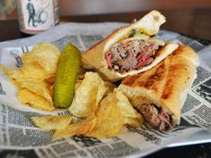 Backspace Bar & Kitchen has been churning out some kicked up pub food since food pub Pub Food, Bar Kitchen, Cheesesteak, Hot Dog Buns, New Orleans, Food And Drink, Restaurant, Dinner, Burgers