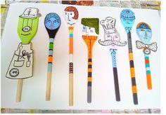 sarajo frieden: wooden spoon people