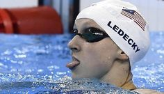 Katie Ledecky big tongue nice cool Pic  Amazhing and Astonishing Pictures of Rio 2016 Olympics. www.viralmp4.com