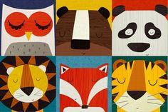 animalcards | rebecca elliott