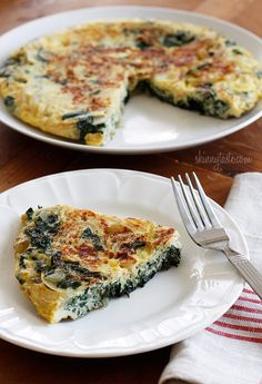 Light Swiss Chard Frittata from Skinny Taste. Made this for dinner and it was delish. I added some sweet gypsy peppers, sour cream, baking soda, and flour, and cooked it in the oven like a quiche (30 min @ 350).