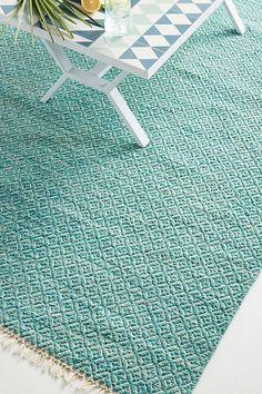Slide View: 2: Ceanna Indoor/Oudoor Rug - indoor/outdoor polyester - 2x3, 3x5, 5x8, 8x10 ($698), 9x12