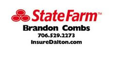 If you are looking for an insurance agent in and around the Dalton, GA area, look no further than Brandon Combs -- StateFarm Insurance.    Background and achievements  Member of Local Church  Third generation State Farm Agent  Georgia Southern University  Member of the Chamber of Commerce  Member of Carpet City Rotary Club