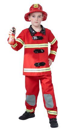 Déguisement pompier garçon : Deguise-toi, achat de Deguisements enfants