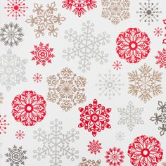 Snowflake Gift Wrap | The Container Store