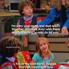 """#GirlMeetsWorld 3x02 """"Girl Meets High School: Part Two"""" - Auggie and Ava"""