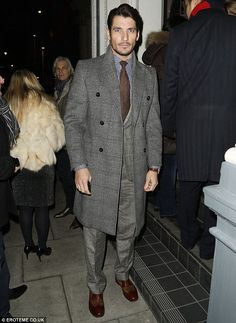 David Gandy Attends The Right To Play Private Dinner ~ David James Gandy