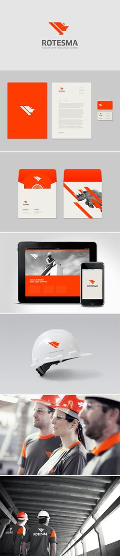Website Design & Branding for the Construction & Trade Industry Design Logo, Design Poster, Brand Identity Design, Graphic Design Branding, Design Art, Corporate Design, Business Design, Cv Inspiration, Graphic Design Inspiration