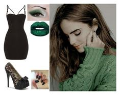 """""""Hermione's Freakum Dress"""" by rosalynnmalfoy on Polyvore featuring Bordello, Emma Watson and LunatiCK Cosmetic Labs"""