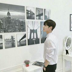 Pentagon Hongseok, Bae, Im A Loser, Star Sky, Photo Wall, Wattpad, Boyfriends, Universe, Kpop Groups