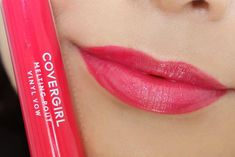 Covergirl Melting Pout Vinyl Vow Lipgloss Review and Lip Swatches : Vibrant Thingv| Slashed Beauty #BeautyHacksForTeens Beauty Hacks For Teens, Beauty Tips For Hair, Best Beauty Tips, Beauty Secrets, Diy Beauty, Beauty Makeup, Everyday Beauty Routine, Beauty Routines, Lip Swatches