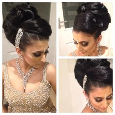 African American. Black Bride. Wedding Hair. Natural Hairstyles. @akhair_x- #webstagram