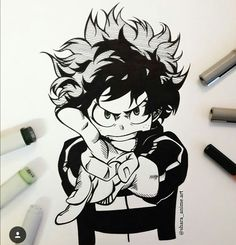 su my hero academia Anime Drawings Sketches, Anime Sketch, Manga Drawing, Manga Art, Pencil Drawings, Manga Anime, Art Drawings, Anime Art, Hero Academia Characters