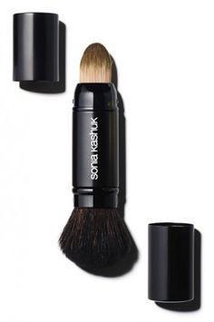 Dual Foundation/ Powder Brush by Sonia Kashuk - http://soniakashuk.com/products/dual-foundation-powder-brush/