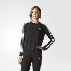 adidas - Blusa Moletom Chiffon 3-Stripes Roupas Adidas Femininas 63be6819962