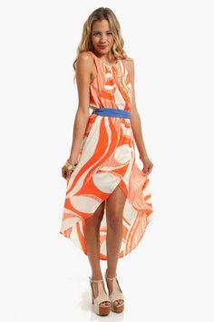 Swivel Belted Tank Dress