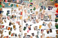 The Paper Cup installation by the very talented and super lovely Kimberly Amos