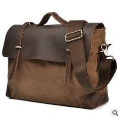 """* canvastasche messengerbag """"bigpack"""" * von WirSindTeilzeithippies auf DaWanda.com"""