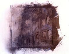Niagara Street grey/brown - Silk Screen - Toronto - 2012