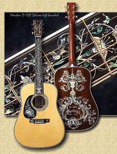 Martin Guitar - The One Millionth Acoustic Guitar Produced By Martin. Guitar Shop, Music Guitar, Cool Guitar, Playing Guitar, Guitar Art, Guitar Pics, Guitar Painting, Ukulele, Custom Acoustic Guitars