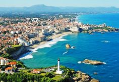 The Beaches of Biarritz France have been an attraction for ages Shown here La Grand Plage