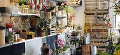 Gorgeous retail location - Green Fresh Florals in San Fransisco.
