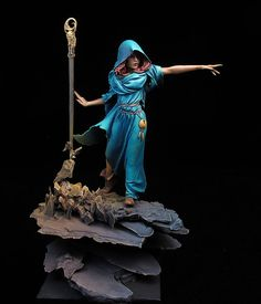 The Internet's largest gallery of painted miniatures, with a large repository of how-to articles on miniature painting Dragon Miniatures, 28mm Miniatures, Fantasy Miniatures, Matte Painting, Love Painting, Figure Painting, Zombicide Black Plague, 3d Figures, Action Figures