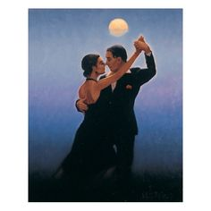 Jack Vettriano - Tango Dancers