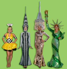 new york party decorations | New York theme Glamour Girls!