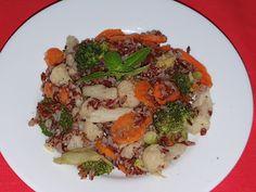 Lulu - Povesti din Bucatarie: Legume cu orez Meat, Chicken, Cubs