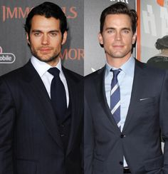 Henry Cavill and Matt BomerWith their gorgeous blue eyes and chiseled faces, Henry and Matt are two of the best-looking men in Hollywood. If they were brothers, we'd venture to say they were even hotter siblings than the Hemsworths!