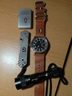 EDC, nice watch.