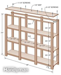 12 Simple Storage Solutions for Small Spaces  sc 1 st  Pinterest & 21 Things You Can Build With 2x4s | home | Pinterest | Diy storage ...