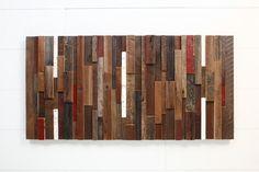 Wood wall art made of old reclaimed barnwood от CarpenterCraig