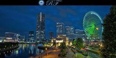Yokohama at Night by Roberto Fonte on 500px