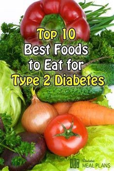 Top 10 best foods to eat for type 2 diabetes