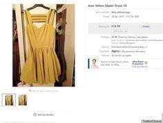 Quería vender su vestido... y colgó su foto desnuda en Ebay por error (FOTOS)