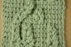 My Tunisian Crochet: Relief & Cables