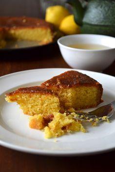 La Cuisine c'est simple: Simple comme un gâteau de polenta au citron