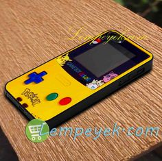 Game boy color pokemon Phone Case iPhone cases, Samsung Galaxy cases, HTC one…
