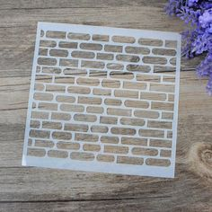 DIY Craft Brick Design Layering Stencils For Walls Scrapbooking Painting Template Stamps Album Decorative Embossing Paper Cards,High Quality stencil design,China stencils for walls Suppliers, Cheap stencils for painting walls from Besta Gifts on Aliexpress.com