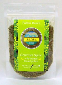 Have you tried our 4 oz Dill Pollen Spice wild crafted and hand collected. #dillpollen  Find our 4-oz Dill Pollen package here: http://www.pollenranch.com/spices/dill-pollen/dill-pollen-4-oz-sealed-pouch-detail