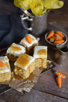 Carrot Cake mit Cream Cheese Frosting & Karamell Carrot Cake Cream Cheesecake Frosting and Caramel (20)