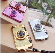 Photo Camera Phone Case for Iphone - Handytasche 3d Camera, Retro Camera, Camera Case, Camera Phone, Cute Cases, Cute Phone Cases, Iphone Phone Cases, Case For Iphone, Iphone Shop