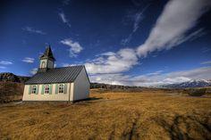 Church,Þingvellir National Park - Iceland