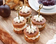 Filled with Cream Cheese Frosting, these Pumpkin Cakes are a rich fall dessert.