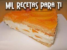 Mil Recetas para Ti: Torta fría de melocotón