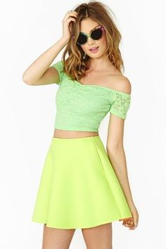 Budding Lace Crop Top by #NastyGal
